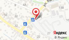 Гостиница Дарья на карте