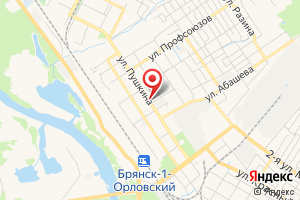 Адрес Газпром межрегионгаз Брянск, Абонентский участок Володарского района на карте