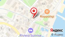 Отель Агора на карте