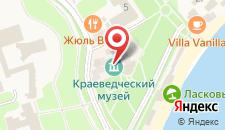 Гостиница Усадьба Приморский Парк на карте