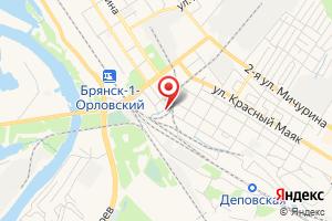 Адрес Газпром газораспределение Брянск, эксплуатационный участок на карте