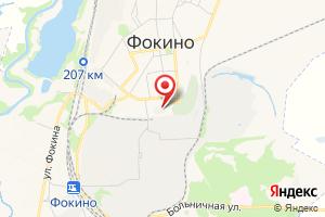 Адрес МУП Водоканал г. Фокино на карте