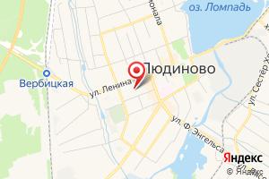 Адрес Газпром газораспределение Калуга, филиал в г. Людиново на карте
