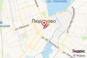 Адрес Газпром межрегионгаз Калуга, Территориальный участок г. Людиново, пункт учета Людиново на карте