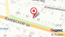 Отель Ночлег на карте