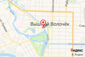 Адрес Газпром межрегионгаз Тверь, Абонентская группа Г. В. Волочек на карте