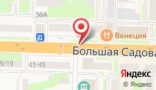 Гостиница Березка на карте