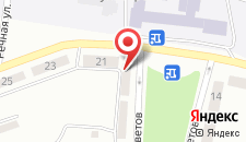 Отель Заря на карте