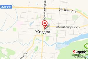 Адрес Газпром межрегионгаз Калуга, Территориальный участок г. Людиново, пункт учета Жиздра на карте