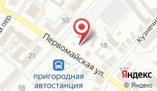 Отель Пан на карте