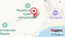 Отель Воробьиное гнездо на карте