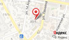 Гостиница Сурож на карте