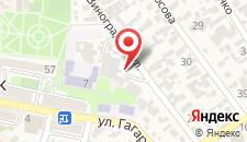 Гостиница ALBINA на карте