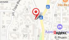 Гостиница Гранд на карте