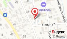 Отель Тропикана на карте