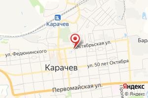 Адрес Газпром газораспределение Брянск, магазин Газ-сервис № 10 на карте