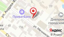 Отель Axelhof на карте