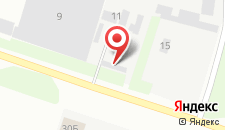 Гостиница Ниагара на карте