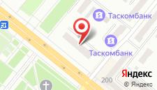 Гостиница Днепр на карте