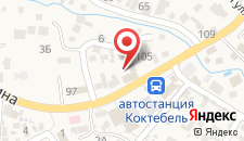 Отель Лето на карте