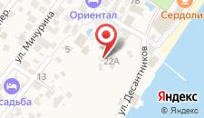 Отель Югра на карте