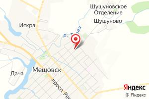 Адрес Газпром газораспределение Калуга, Мещовский газовый участок на карте