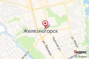 Адрес Газпром межрегионгаз Курск, абонентская служба в г. Железногорск на карте