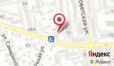 Гостевой дом На Украинской на карте