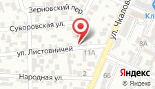 Мини-отель Пансион Кафа на карте