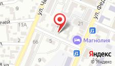 Мини-отель Малибу на карте