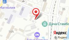 Гостиница Reiss на карте