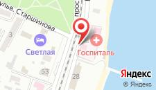 База отдыха Ай-Петри на карте