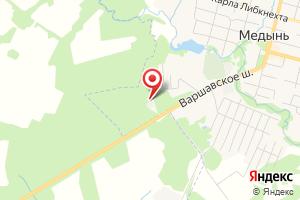 Адрес Газпром газораспределение Калуга, Медынский газовый участок на карте