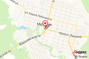 Адрес Газпром межрегионгаз Калуга, Территориальный участок г. Кондрово, пункт учета Медынь на карте