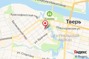 Адрес Газпром Теплоэнерго Тверь на карте