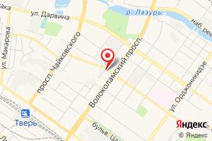 Адрес Русэнергосбыт, Октябрьский филиал, Тверской отдел на карте