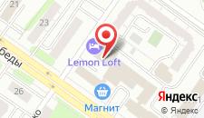 Гостиница-Хостел Европа на карте