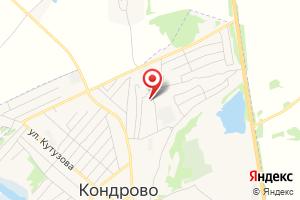 Адрес Газпром газораспределение Калуга, филиал в г. Кондрово на карте