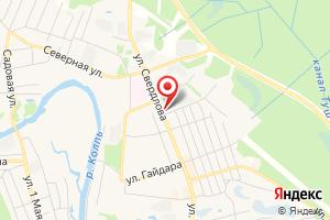 Адрес Газпром межрегионгаз Вологда, Бабаевский пункт абонентского отдела на карте
