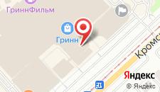Гостиница ГРИНН на карте