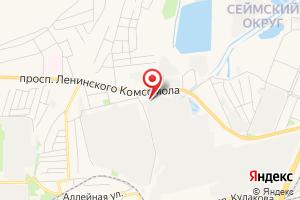 Адрес Курская Тэц-1 на карте