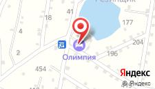 Мини-гостиница Олимпия на карте
