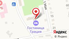 Гостиничный комплекс Грация на карте