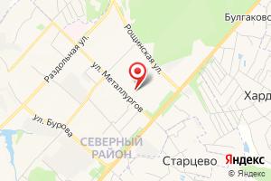 Адрес Водоканал, ЖД участок на карте