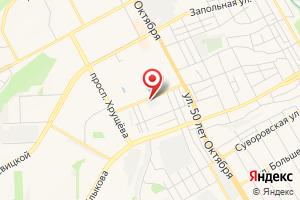Адрес Газпром газораспределение Курск, Учебно-методический центр на карте