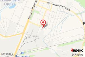 Адрес РЭС Сеймского округа на карте
