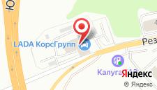 Гостиница Green Park Kaluga на карте