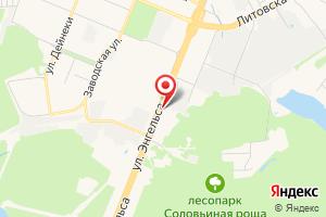 Адрес Магазин газового оборудования на карте