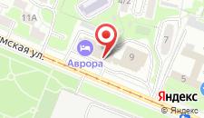 Гостиничный комплекс Аврора на карте