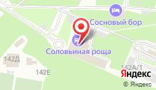 Гостиничный комплекс Соловьиная роща на карте